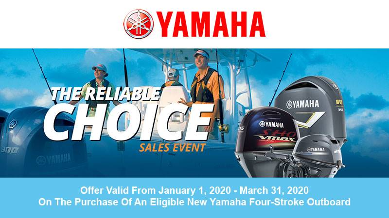 Yamaha Reliable Choice promo